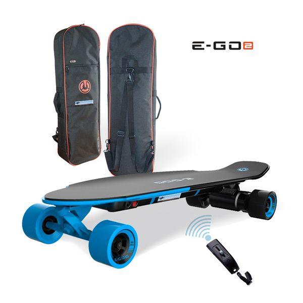 Yuneec EGO 2 E-Longboard Royal Wave + Tasche + Zubehör Elektro Longboard E-GO 2 – Bild 1