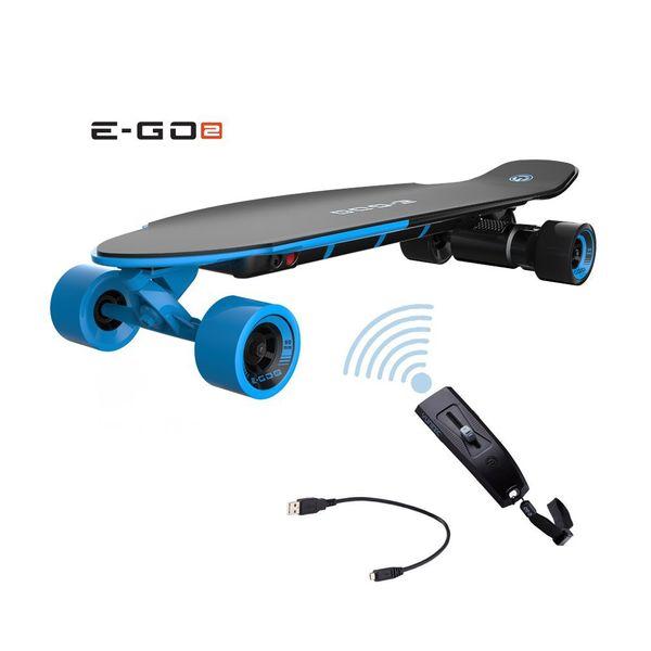 Yuneec EGO 2 E-Longboard Royal Wave + Helm+ Tasche+ Zubehör Elektro Longboard E-GO 2 – Bild 5