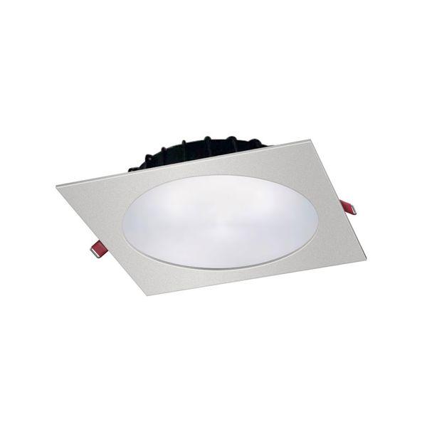 CLE Einbauleuchte Flat Quadro LED Epistar 2100lm 3000k weiß  – Bild 1