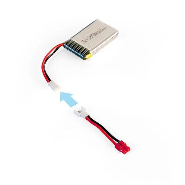 DS24 Batterie Adapter für Syma X5H Modelle auf Standardakkus X5  – Bild 3