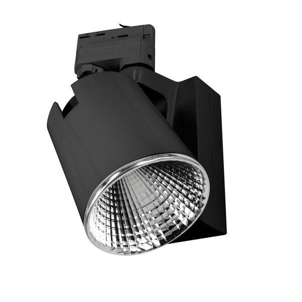 CLE LED Strahler 3 Phasen Stromschiene Philips FORTIMO warmweiß schwarz 3600lm inkl. Reflektor Adapter – Bild 3