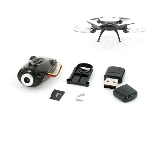 Kamera für SYMA X5SC Quadrocopter schwarz mit SD Karte – Bild 1