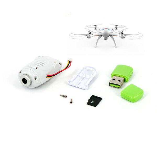 Kamera für SYMA X5SC Quadrocopter weiß mit SD Karte – Bild 1