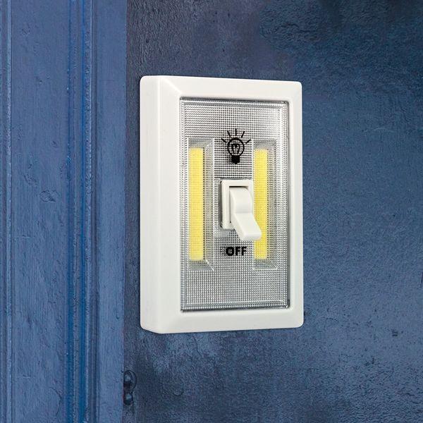 CLE LED Lichtschalter Switch ON OFF Superhell Notlicht Campinglicht Taschenlampe