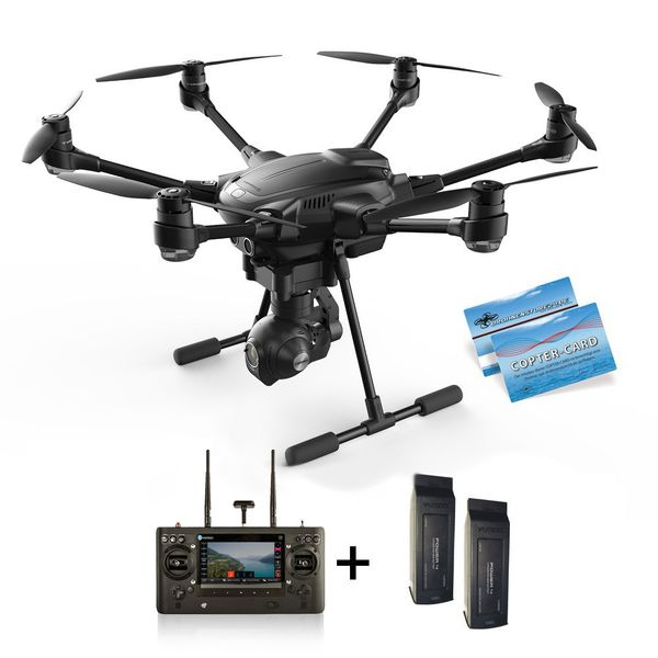 Yuneec Q500 4K Upgrade-Set auf Typhoon H 2x Akku 4K CGO3+ ST16 Anti-Collision – Bild 2