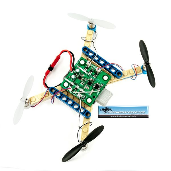 DS24 Baustein Quadrocopter - die Brick Drohne zum Selbstbauen - Bausatz für Groß und Klein - Anfänger Copter  – Bild 5