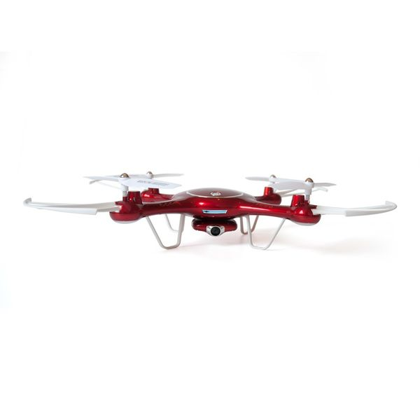 Syma X5UW Quadrocopter Metallic Rot Edition Drohne Hold Funktion WIFI FPV Kamera inkl. Copter Card  – Bild 2