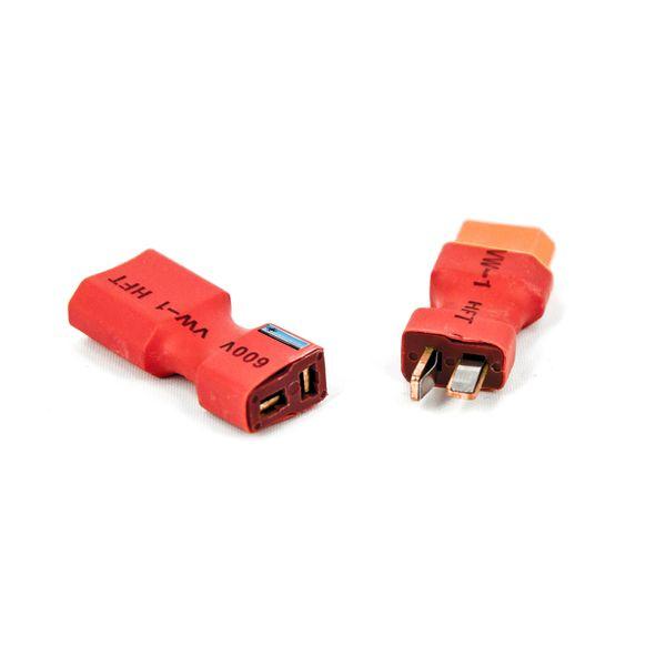 DS24 Adapterset XT60 auf T-Plug Stecker und Buchse 1Paar – Bild 1