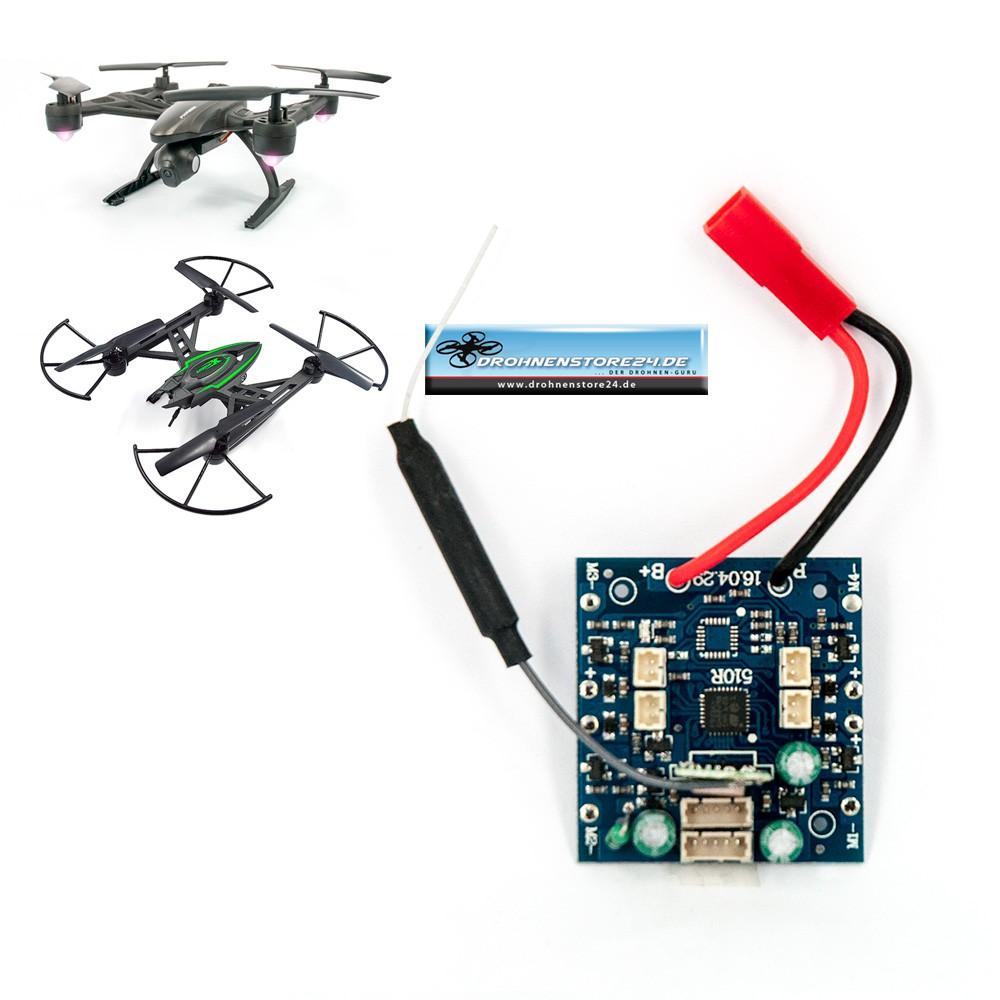 JXD Empfänger Platine 510W X-predators 509W 509G Pioneer Drohne Quadrocopter Ersatzteil