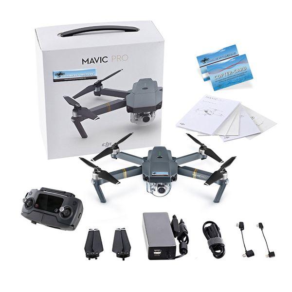 DJI Mavic Pro Quadrocopter 4K Kamera 3-Achs Gimbal Anti-Kollisions-System