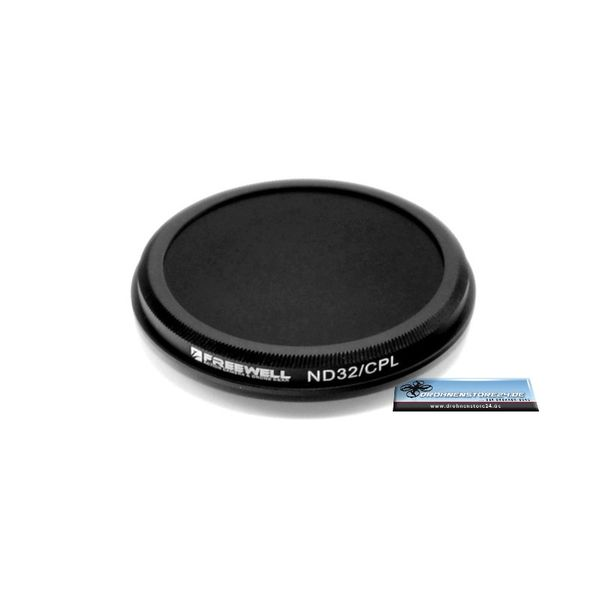 Freewell 2 in 1 ND32 CPL Filter für Yuneec Typhoon H - Q500 4K - Blade Chroma 4K – Bild 2