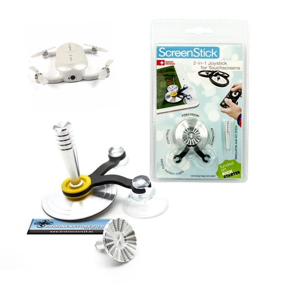DS24 Handy Tablet Joystick für Wifi Drohnen z.B. Breeze Syma Ehang Dobby Parrot Quadrocopter - Game Stick – Bild 1