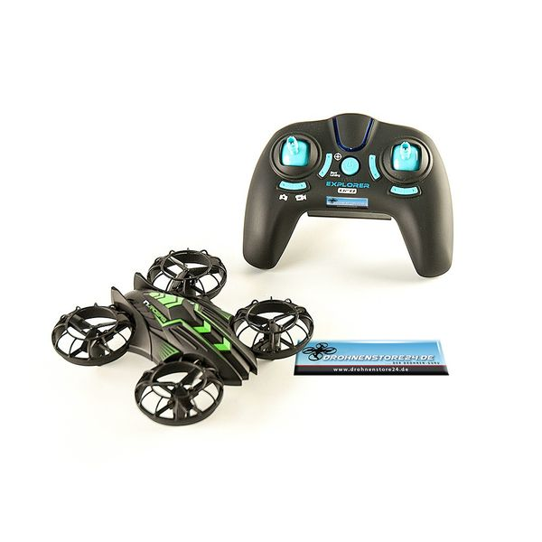 JXD Invaders 515W Mini Drohne Wifi Quadrocopter 0.3MP Kamera Höhenstabil – Bild 2