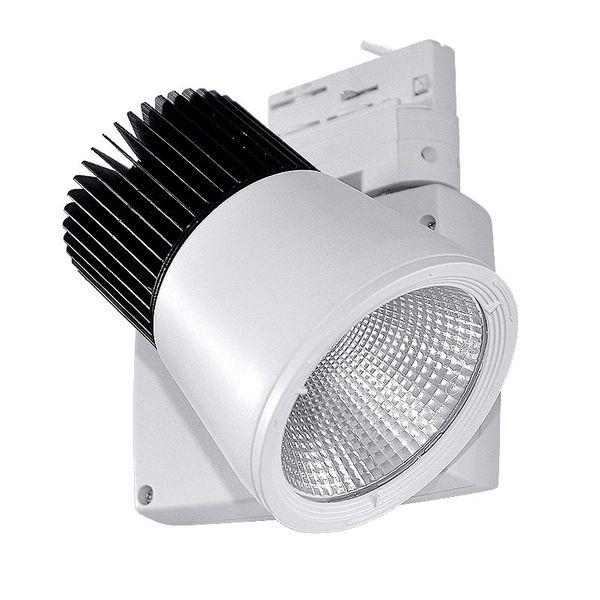 CLE LED Strahler 3 Phasen Stromschiene Philips FORTIMO LED MOD1 3600lm 24 Grad PASSIV weiß
