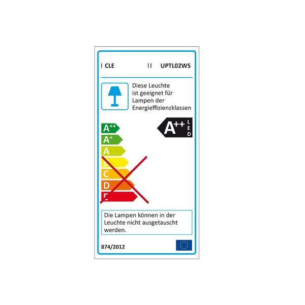 CLE LED Strahler Philips FORTIMO 3 Phasen Stromschiene TL02 45 Grad Weiß 3600lm inkl. Reflektor, Adapter – Bild 2