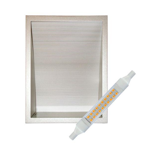 CLE LED Wandeinbauleuchte YK Big Screen INKLUSIVE Leuchtmittel SlimLED R7s-118