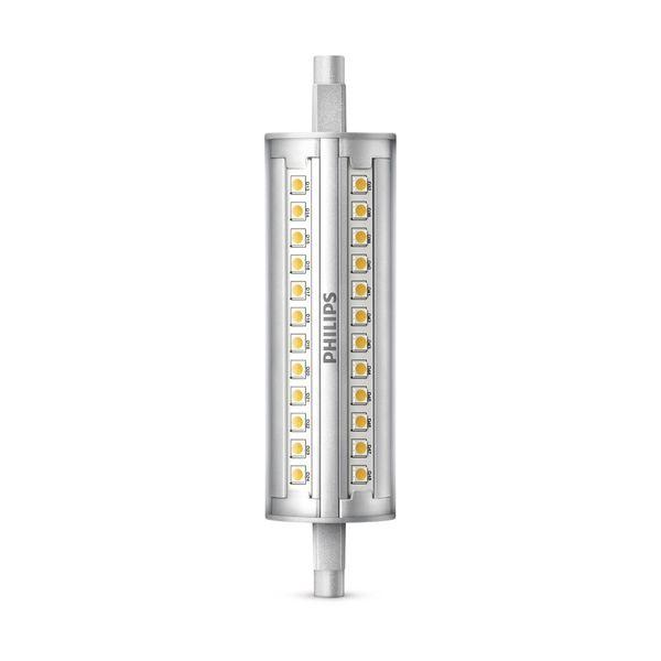 Philips CorePro R7s 118mm 14W = 100W Ersatz für Halogenstab 830 1600lm warmweiß DIM