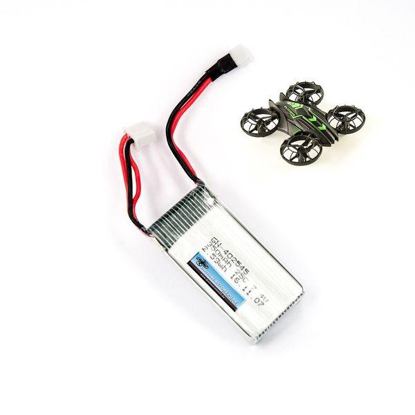 DS24 Ersatz Akku für JXD Invaders 515W Mini Drohne Quadrocopter -  LiPo 7.4V 350mAh – Bild 1