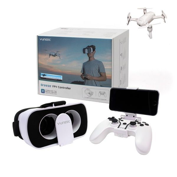 YUNEEC Breeze FPV und Controller KIT -  Game Controller und FPV-Headset für den Breeze 4K
