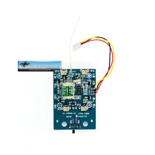 Empfänger Platine für DS24 Spooky SYM X5HC ATH Modelle - Drohnen Ersatzteil – Bild 2