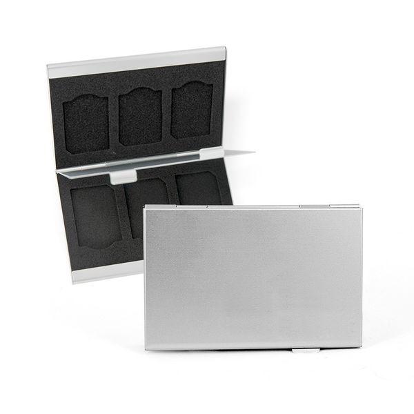 DS24 FLYSAFE Alubox für SD-Karten und SD-Karten Adapter – Bild 1