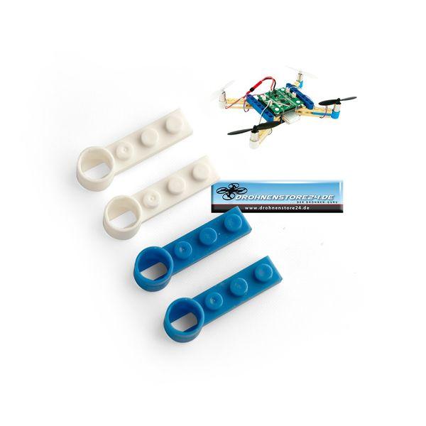 Ersatz Motor Halter Baustein SET für DS24 Brick Quadrocopter Drohne - Ersatzteil – Bild 1