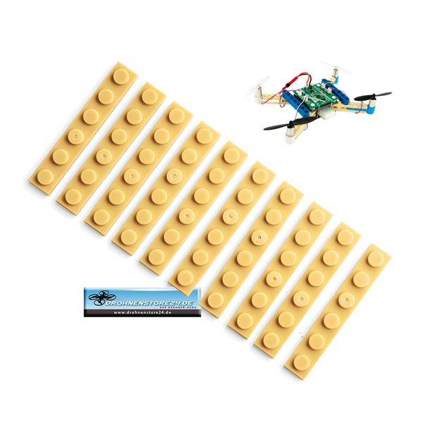 Ersatz Bausteine 10x für DS24 Brick Baustein Quadrocopter Drohne   – Bild 1