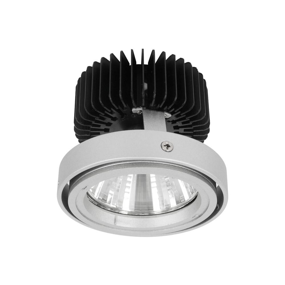 CLE LED Umrüsteinsatz für Kardan Einbauleuchten Alugrau inklusive ...