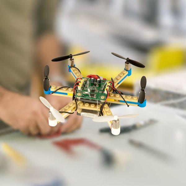 Ersatz Akku für DS24 BRICK Baustein Hexacopter Drohne 3.7V 900mAh - Ersatz Akku   – Bild 4
