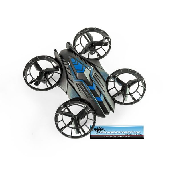 JXD Invaders 515W Blau Mini Drohne Wifi Quadrocopter 0.3MP Kamera Höhenstabil – Bild 5