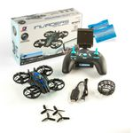 JXD Invaders 515W Blau Mini Drohne Wifi Quadrocopter 0.3MP Kamera Höhenstabil