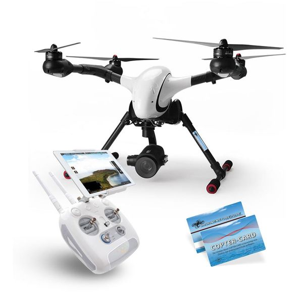 Walkera Voyager 4 16x optischer Zoom HD Kamera DEVOF8W WiFi Version RTF Copter Card – Bild 1