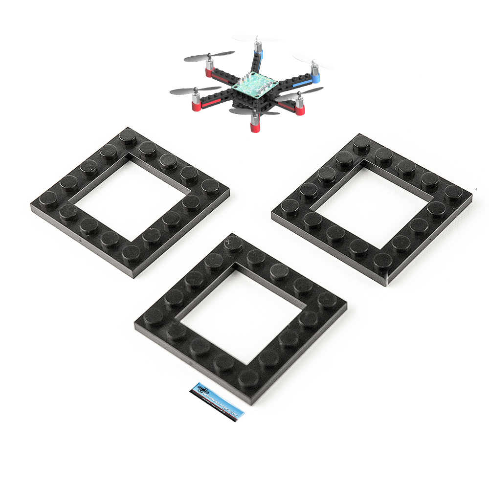 DS24 Ersatz Zentral Bausteine 3x für Brick Hexacopter Drohne - Ersatzteil