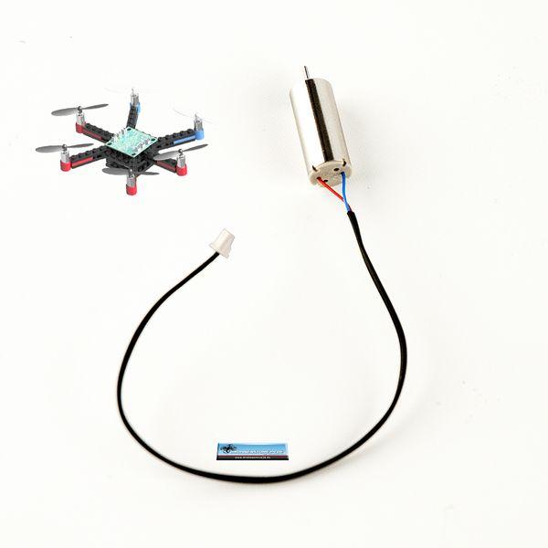 Ersatz Motor RECHTS für DS24 Brick Hexacopter Baustein Drohne - Ersatzteil – Bild 1