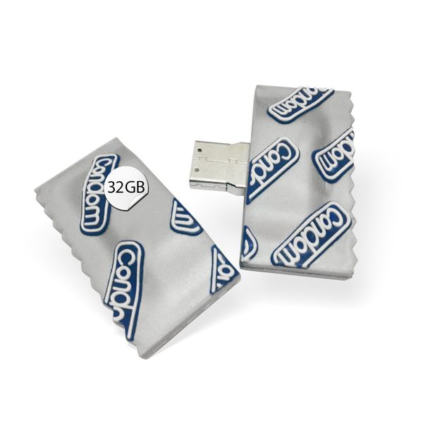 USB Stick in Kondom Optik 32 GB Speicher   – Bild 1