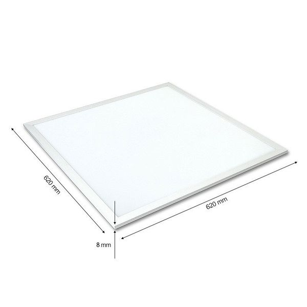 CLE Ultra Slim LED Panel weiß 3600lm 62x62cm neutralweiss 4000k dimmbar – Bild 8