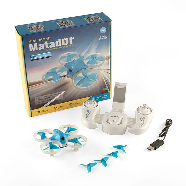 DS24 Cheerson CX95W Matador Mini Drohne BLAU Kamera - Quadrocopter Homeracer
