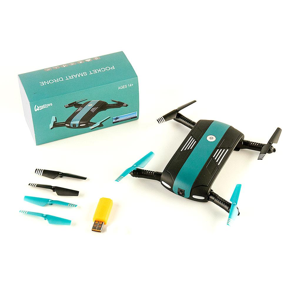 DS24 S-elfie Pocket Drohne Kamera Höhenstabil H4812 Quadrocopter