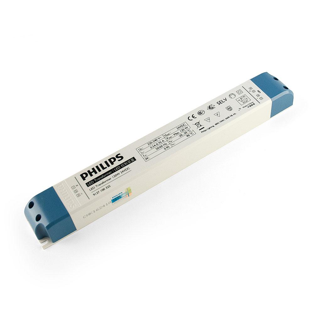 Philips LED Gleichspannungstrafo Transformator für LED-Leisten 120W 24V DC Trafo Treiber