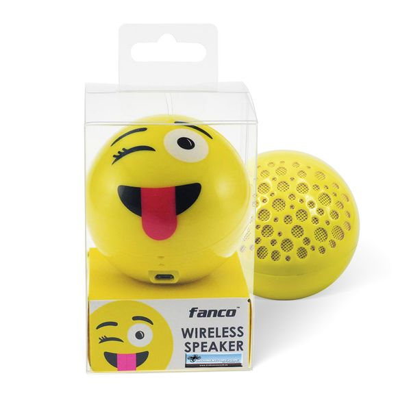 DS24 Wireless Lautsprecher Emoticon JOKE Optik Bluetooth Speaker Sound Box – Bild 6