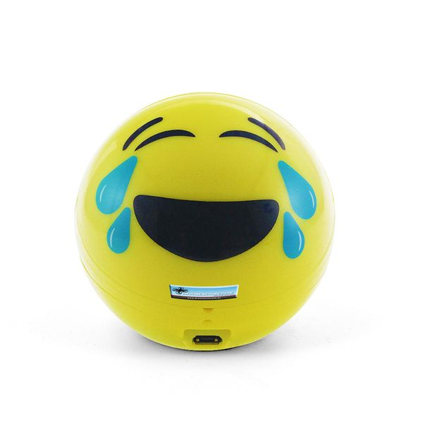 DS24 Wireless Lautsprecher Emoticon LAUGH Optik Bluetooth Speaker Sound Box – Bild 2