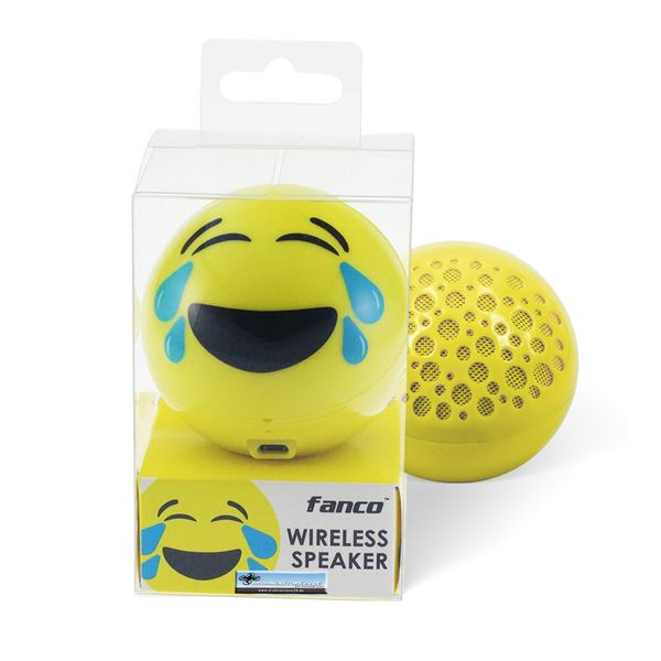 DS24 Wireless Lautsprecher Emoticon LAUGH Optik Bluetooth Speaker Sound Box – Bild 6