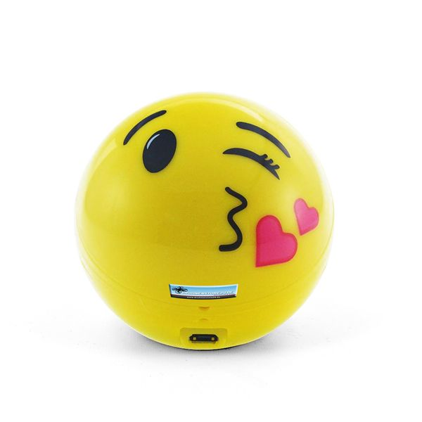 DS24 Wireless Lautsprecher Emoticon KISS Optik Bluetooth Speaker Sound Box – Bild 2