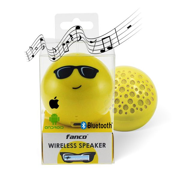 DS24 Wireless Lautsprecher Emoticon COOL Optik Bluetooth Speaker Sound Box – Bild 1