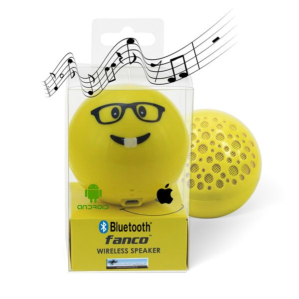 DS24 Wireless Lautsprecher Emoticon GLASSES Optik Bluetooth Speaker Sound Box – Bild 1
