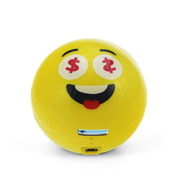 DS24 Wireless Lautsprecher Emoticon MONEY Optik Bluetooth Speaker Sound Box – Bild 2
