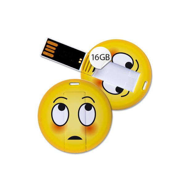 USB Stick in Emoticon Optik - ertappt - 16GB Speicher