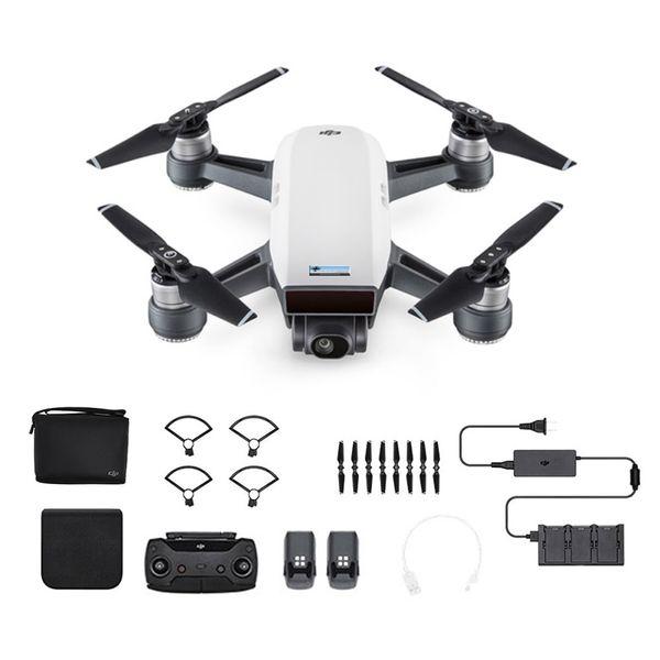 DJI Spark Fly More Combo Alpinweiß - Weiß - Selfie Drohne GPS GLONASS – Bild 1