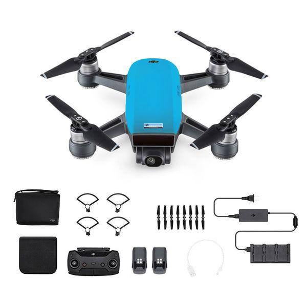 DJI Spark Fly More Combo Himmelblau - Blau - Selfie Drohne – Bild 1