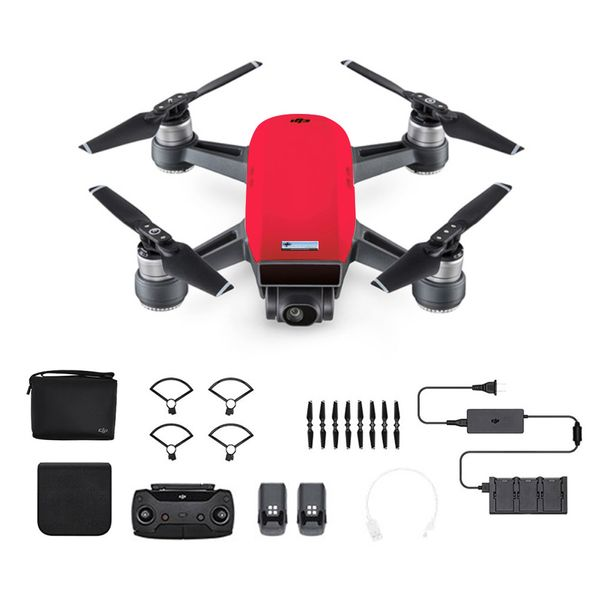 DJI Spark Fly More Combo Lavarot - Rot - Selfie Drohne – Bild 1